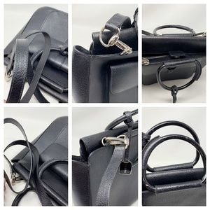 Gucci Bags - Authentic Gucci Black Leather Shoulder Bag